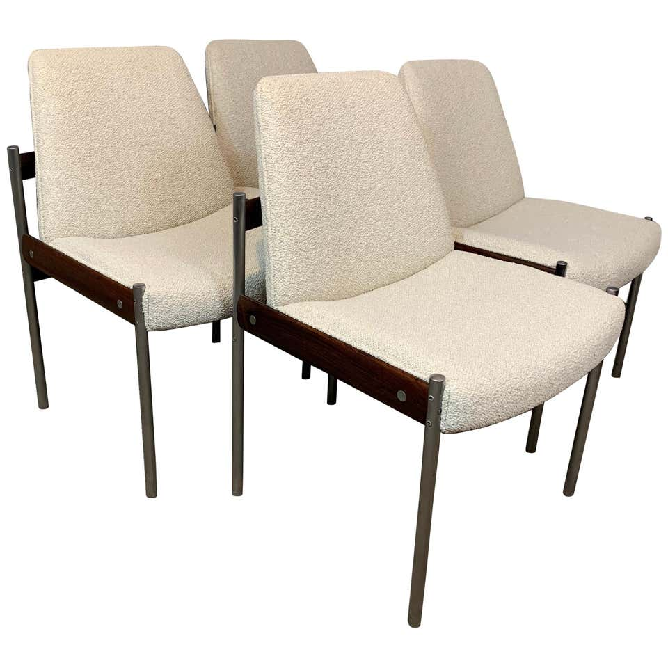 Set of 4 1960s Dining Chairs by Sven Ivar Dysthe for Dokka Mobler